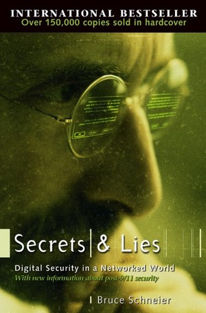 Bookcover Secrets and Lies by Bruce Schneier