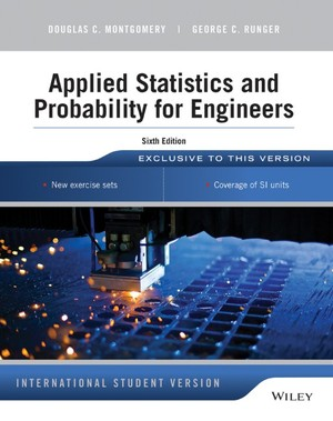 instructors solution manual to accompany probability and statistics in the engineering and computing sciences