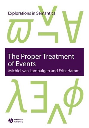 The Proper Treatment of Events cover