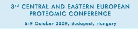 Click to access the official website of the 3rd Central and Eastern European Proteomics Conference 2009